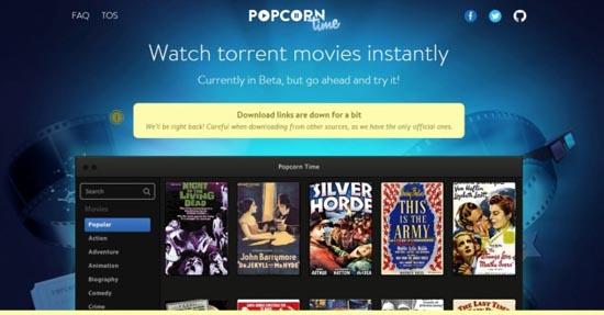 Popcorn time weer terug!