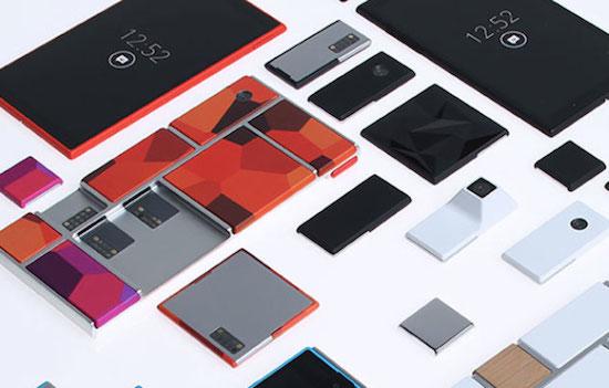 Modulaire smartphone Google