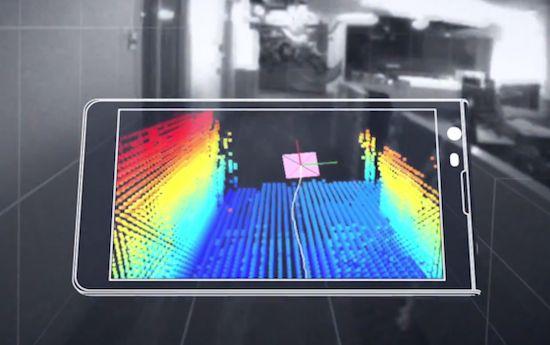 Google werkt aan een tablet met 3D-visie