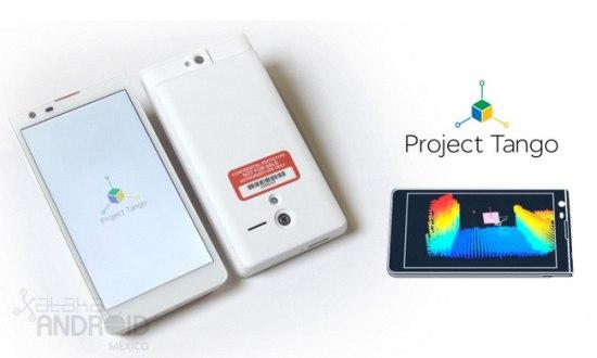 Project Tango: Google's nieuwe smartphone met 3D-sensor