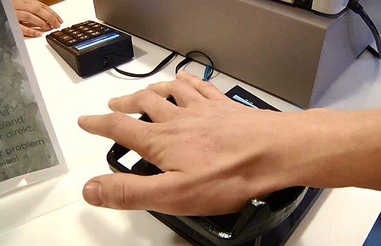 Quixter hand scan