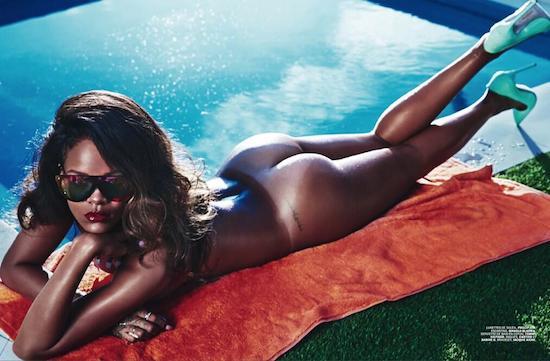 Rihanna is te sexy voor Instagram, krijgt waarschuwing