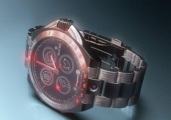 Wat als Rolex een smartwatch zou maken