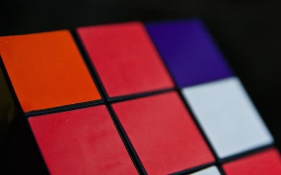 Rubiks kubus als Google Doodle
