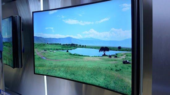 Samsung bendable TV