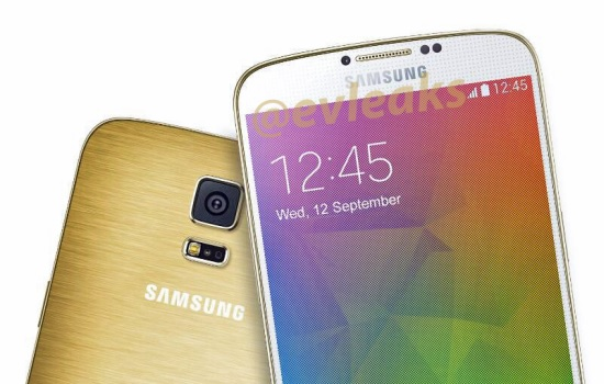 Officiële persfoto Samsung Galaxy F gelekt