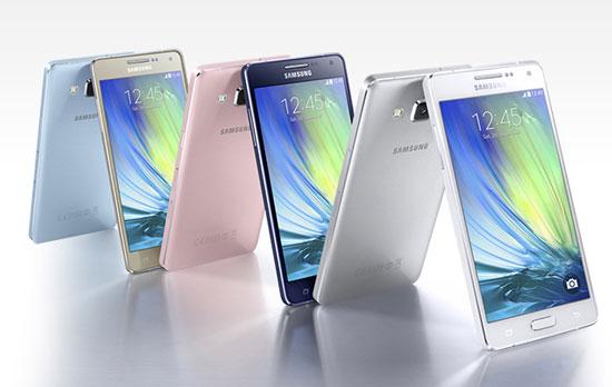 Samsung Galaxy A5 en A3