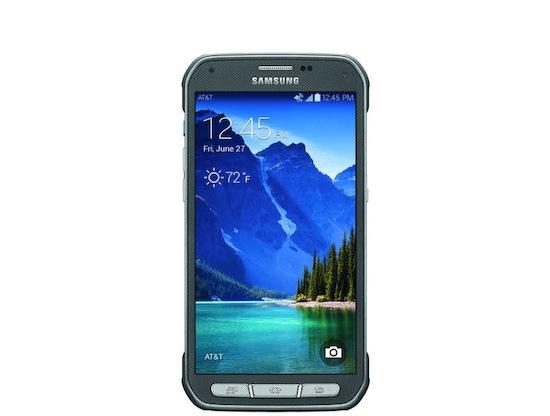 Samsung Galaxy S5 Active: laat maar vallen