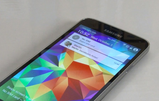 Android 5.0 Lollipop op de Samsung Galaxy S5