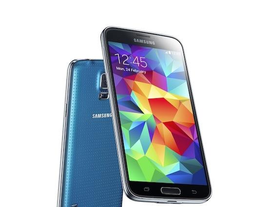 Nederlandse politie aan de Samsung Galaxy S5