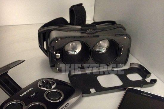 Foto van Samsung's virtual reality bril lekt vroegtijdig uit
