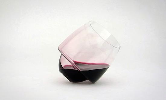 Kersttip: deze wijnglazen kunnen nooit omvallen