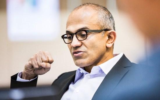Verse Microsoft-CEO verdient in 2014 al 18 miljoen dollar?