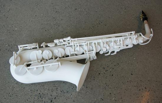 Eerste 3D geprinte saxofoon klinkt niet slecht