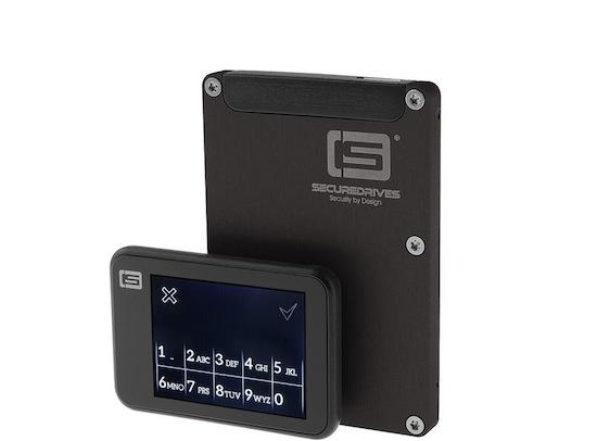 Deze SSD kun je op afstand vernietigen. Met een SMS