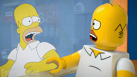 Simpsons-aflevering in LEGO