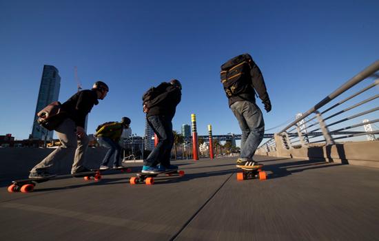 De Skateboard van de toekomst kan nog niet zweven