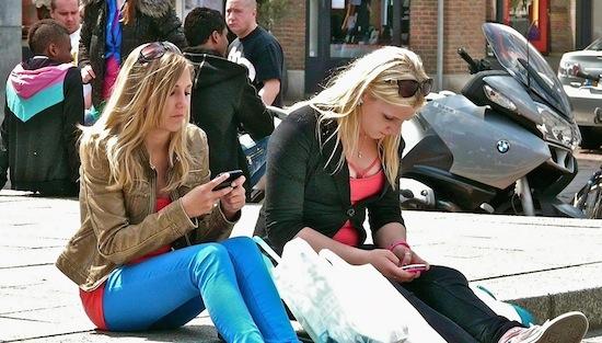Mobiel datagebruik in Nederland geëxplodeerd