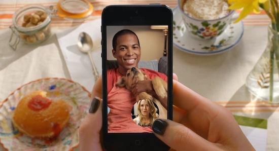 Fullscreen videobellen in Snapchat