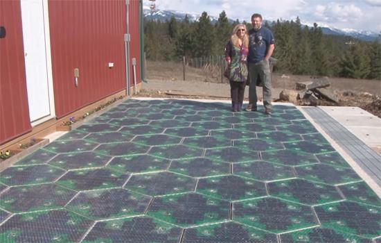 Solar Roadways zoekt geld voor weg van de toekomst
