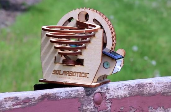 Even tot rust komen met de Solar Marble Machine