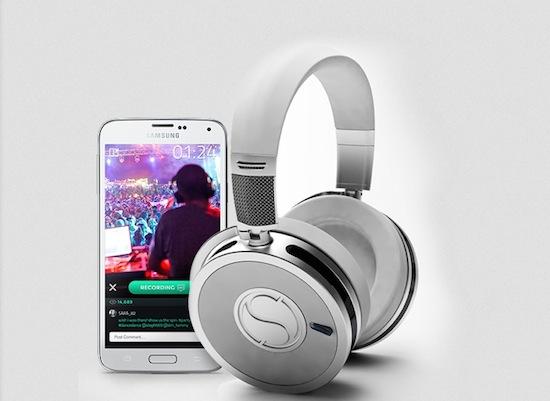 SoundSight koptelefoon komt met ingebouwde camera