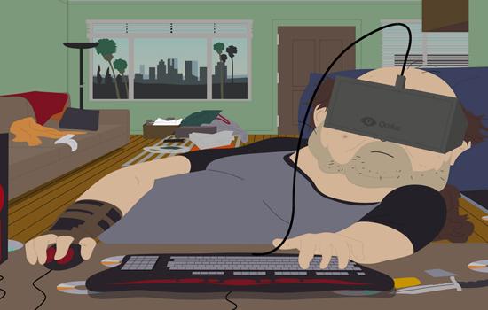 Zo ziet South Park eruit in 3D met een Oculus Rift