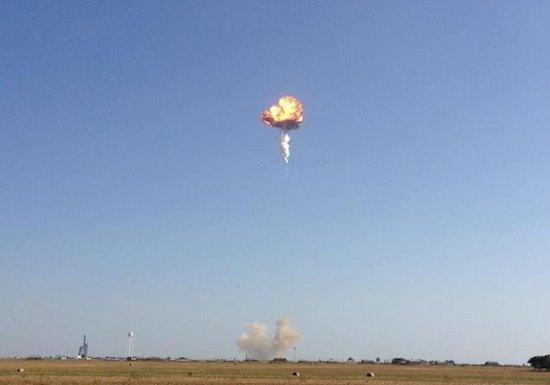 SpaceX-raket ontploft enkele minuten na lancering