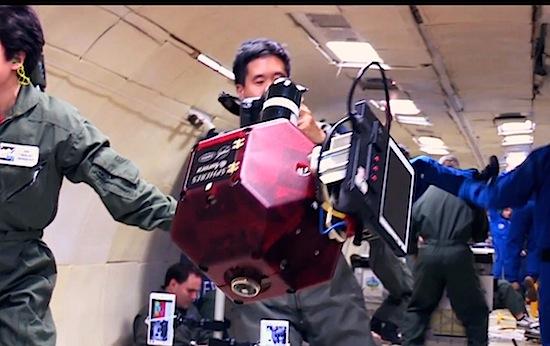 Zwevende robots met Google-technologie