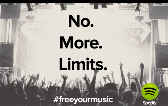 Onbeperkt Spotify-gebruik is nu gratis