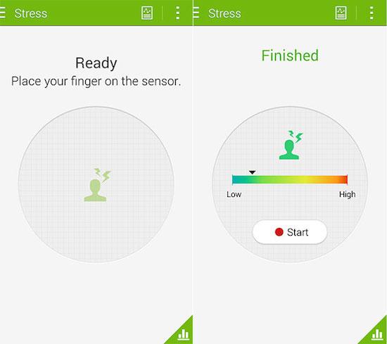 Samsung Galaxy S5 meet nu hoe gestrest je bent