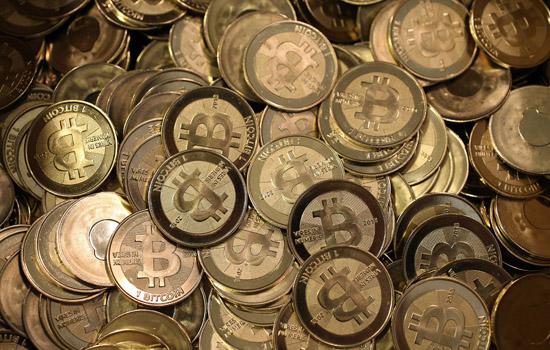 Een stapel Bitcoin