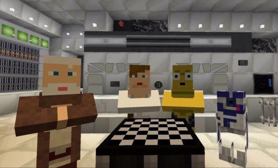 Zo ziet Star Wars: A New Hope er in Minecraft uit