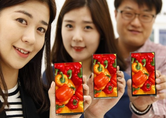Het nieuwste LG-telefoonscherm heeft geen randen meer!