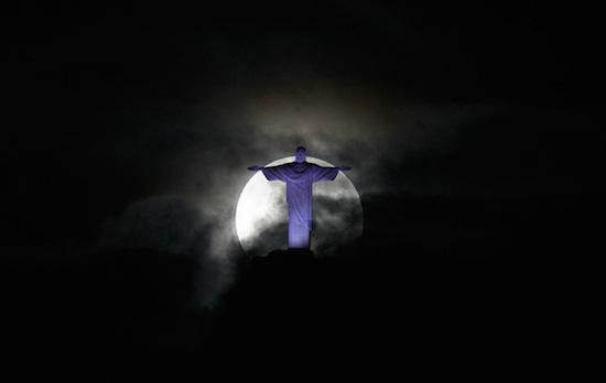 Supermoon Rio De Janeiro