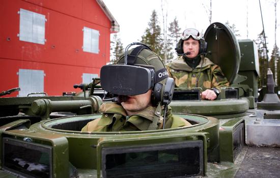 Het Noorse leger gaat de Oculus Rift testen