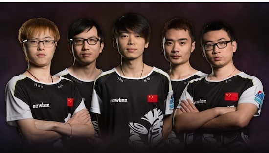 Team NewBee, de Dota 2-experts