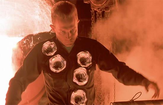 Terminator T1000 liquid metal