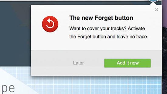 Firefox komt met nieuwe feature: de vergeet-knop