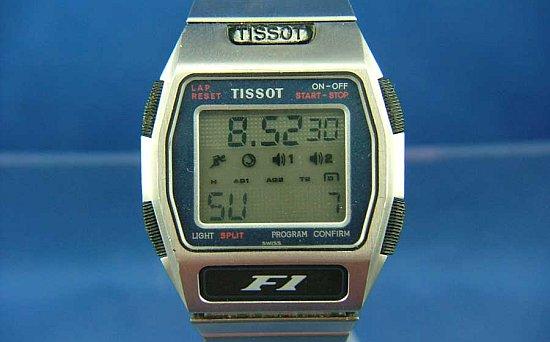 Tissot F1 LCD horloge