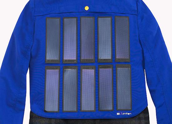 Nieuwe jas van Tommy Hilfiger laadt je smartphone op