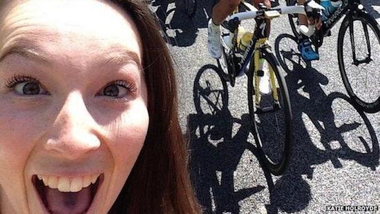 Selfie-plaag treft Tour de France