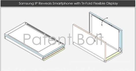 Innovatie! Samsung werkt aan een opvouwbare tablet