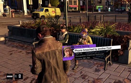 Ubisoft laat in nieuwe video gameplay van Watch Dogs zien