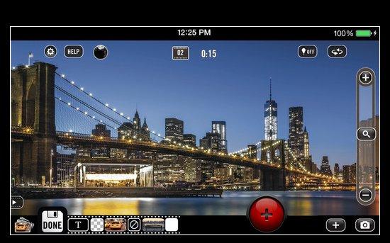 Vizzywig 4K video recording iPhone app
