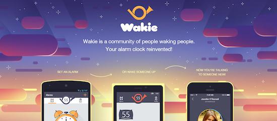 Wakie: laat je wakker maken door een vreemde