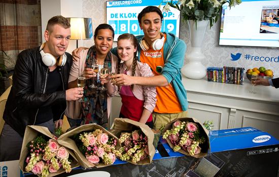Wereldrecord treurpit staren gewoon hier in Nederland