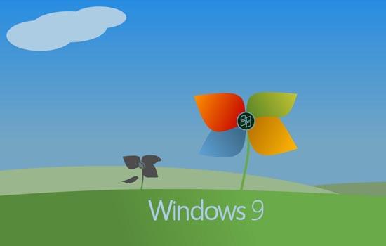Windows 9 met nieuwe molentjes