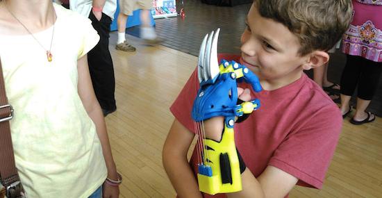 Wolverine-klauw uit 3D-printer