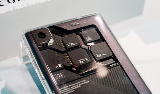 In deze telefoon van ZTE kun je zelf onderdelen upgraden